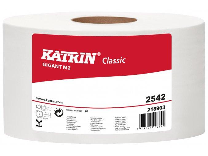 Toaletní papír jumbo KATRIN CLASSIC GIGANT M2 - 2542