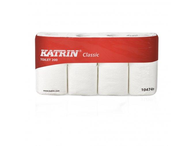 toaletní papír KATRIN Classic toilet 200 - 104749 - 8 ks v balení