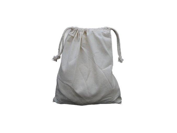 Bavlněný sáček se zatahováním 25x30cm