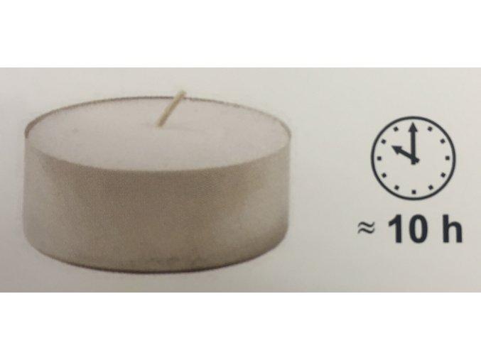 Čajové svíčky JUMBO 58x22mm (cena za 20ks)