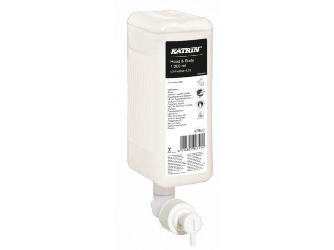 Tekuté mýdlo na tělo a vlasy KATRIN 1000ml