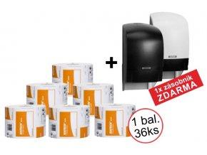 KATRIN SYSTEM BASIC toaletní papír - 156159 1x balení + zásobník ZDARMA
