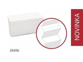 Papírové skládané ručníky KATRIN control system