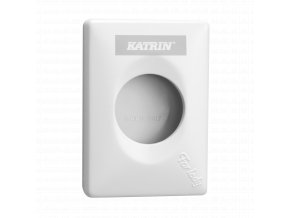 91875 katrin hygiene bag dispenser white side