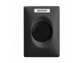 92247 katrin hygiene bag dispenser black front