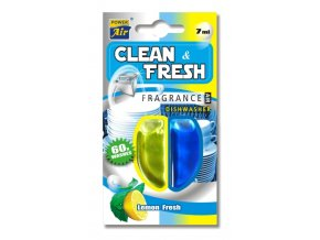 Osvěžovač do myčky nádobí CLEAN  a  FRESH - 60 umytí