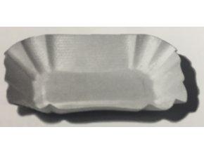 Papírová miska hranatá 9x14x3cm (cena za 100ks)