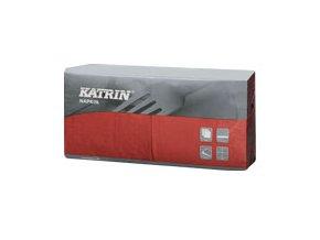 Papírové ubrousky KATRIN Coctail 3-vrstvý - 113198 - Bordeaux