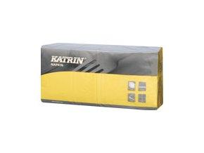 Papírové ubrousky KATRIN Coctail 3-vrstvý - 113204 - Žlutá