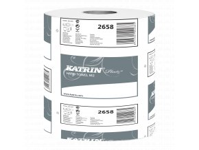 Papírový ručník v roli KATRIN PLUS M 2-PLY - 2658