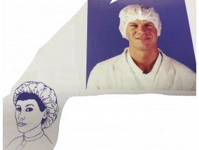 Síťka na vlasy - čepec lehky bílý (cena za 100ks)