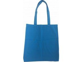 Bavlněná nákupní taška modrá - 15.0037 - 390x410mm