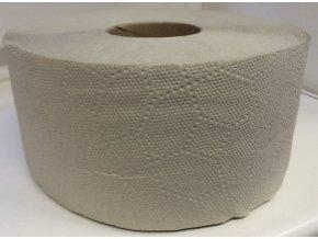 Toaletní papír JUMBO 240mm - šedý jednovrstvý