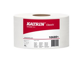 Toaletní papír JUMBO KATRIN CLASSIC GIGANT S 2 - 106801