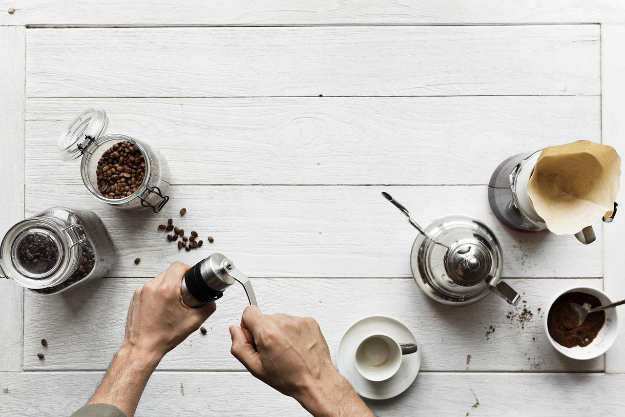 5 kroků na cestě za lepším šálkem kávy