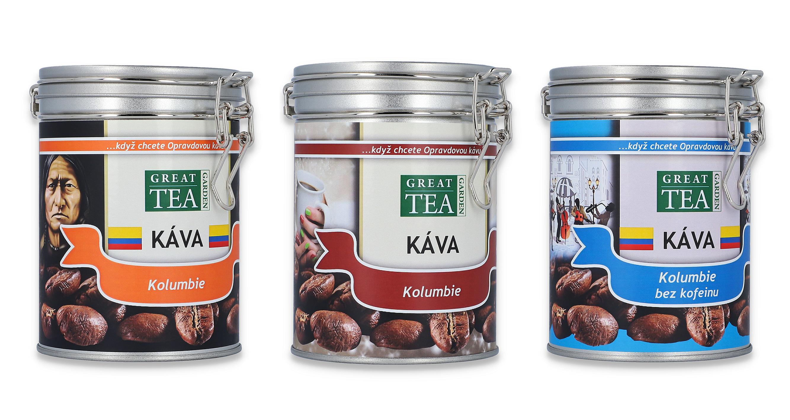 Kolumbie - Skvělá vyvážená káva z vulkanického podloží