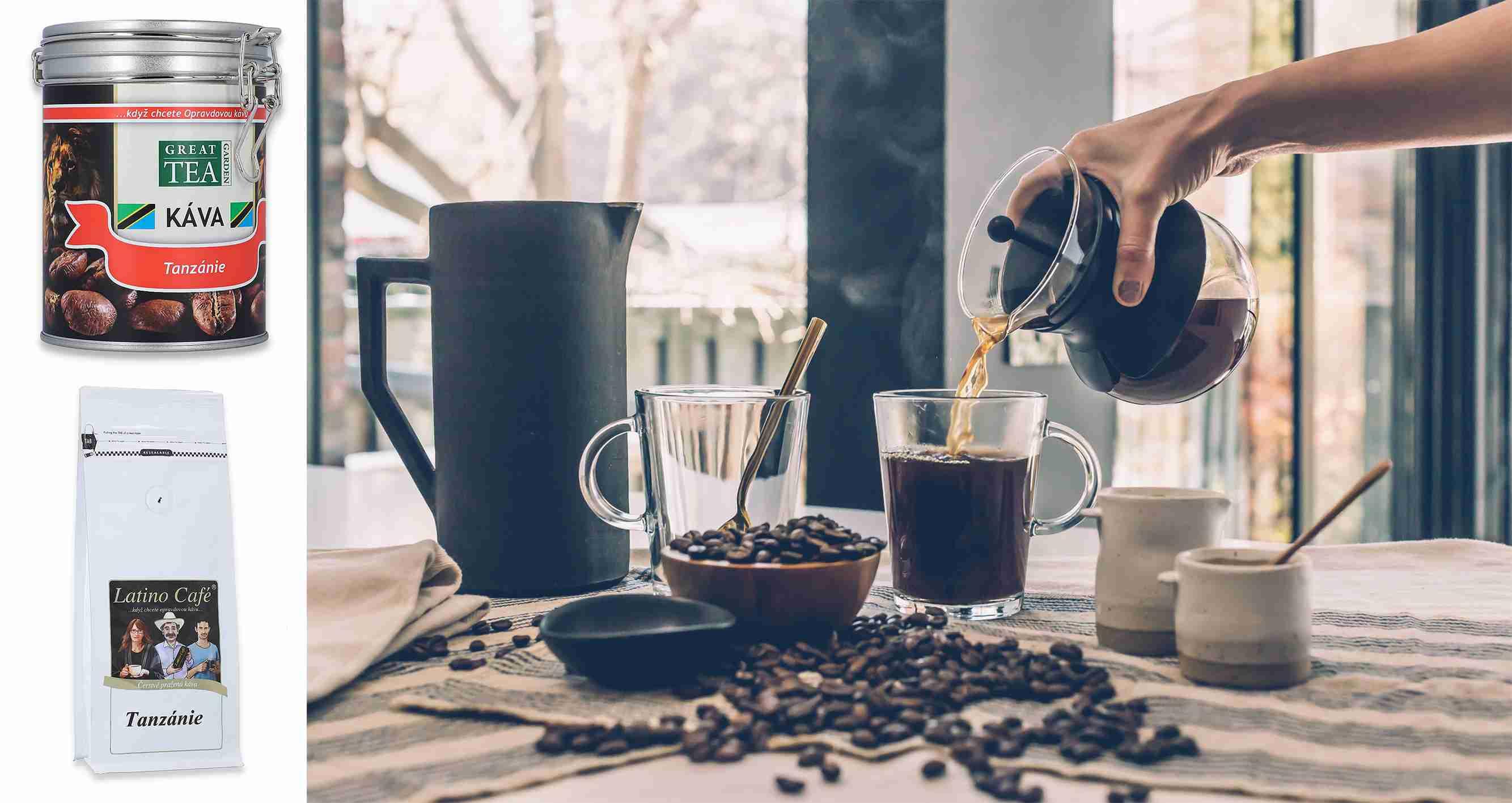 Tanzanie - Lahodná káva z východní Afriky