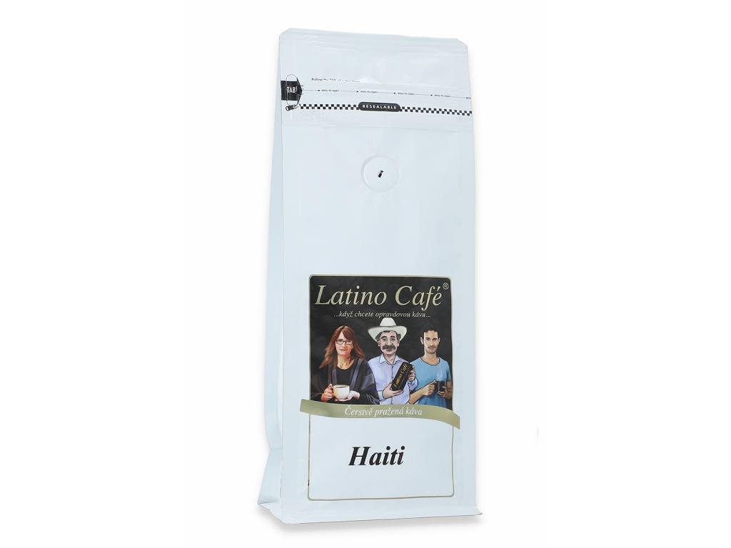Čerstvě pražená káva Haiti