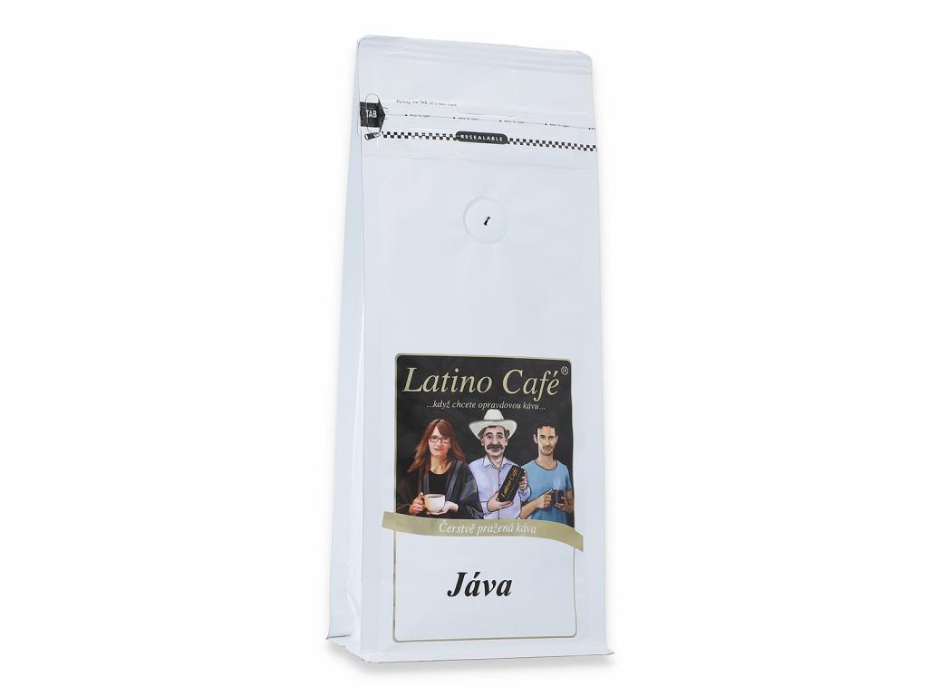 Čerstvě pražená káva arabica Java