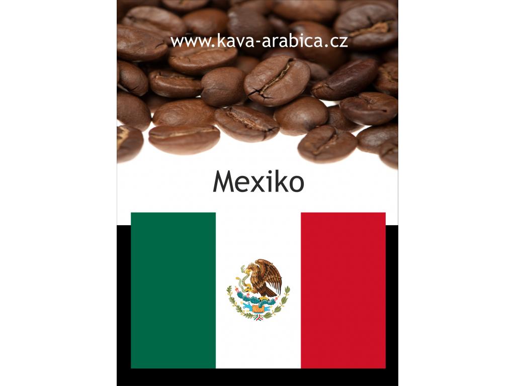 Káva Mexiko Maragogype