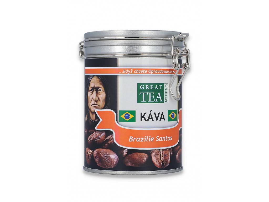 Mletá káva arabica Brazilie Santos