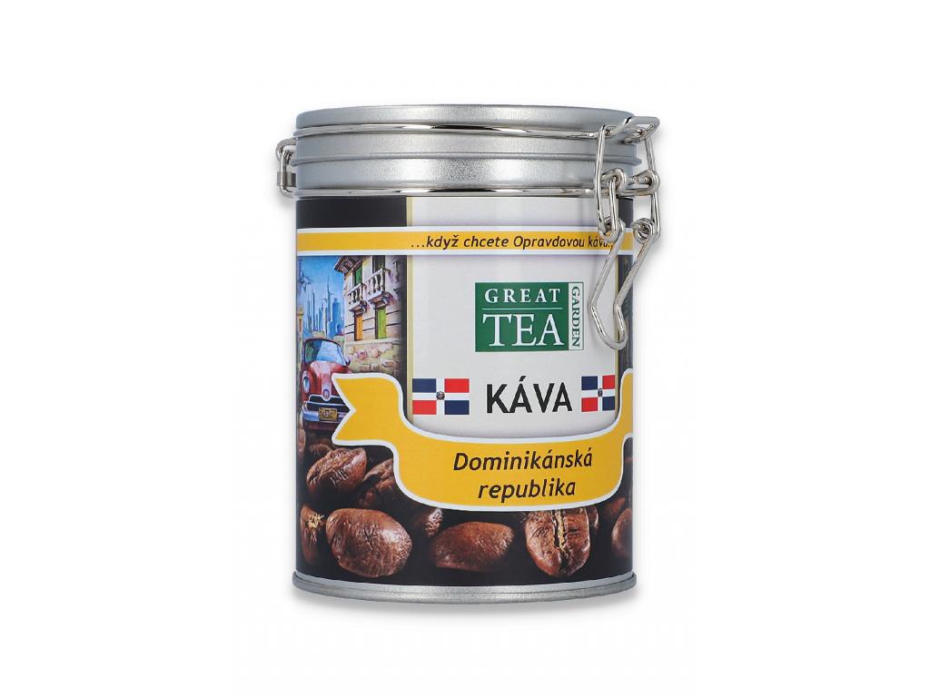 Mletá káva arabica Dominikanska republika