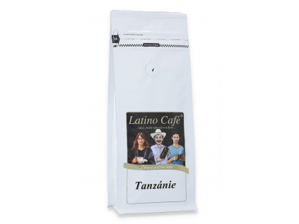 Čerstvě pražená káva arabica Tanzanie
