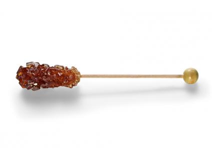 Cukr Kandys hnědý na tyčince