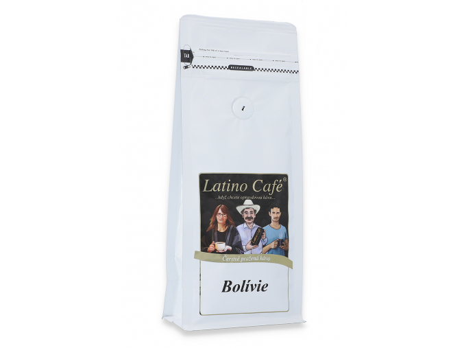 Čerstvě pražená káva arabika - Bolívie