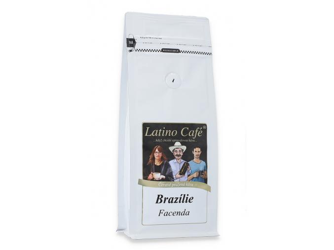 Čerstvě pražená káva arabica Brazílie Facenda
