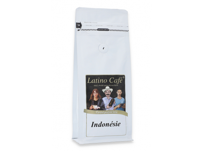 Čerstvě pražená káva arabica Indonesie