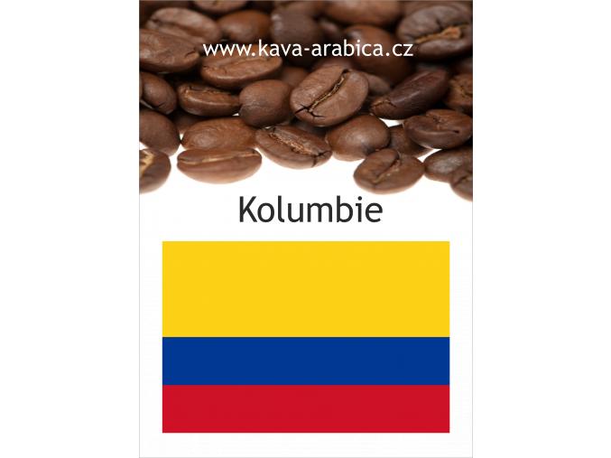 Káva Kolumbie bez kofeinu