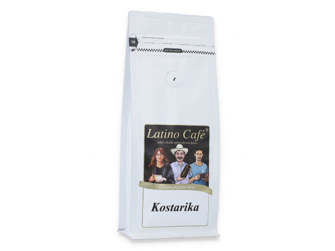Čerstvě pražená káva arabika - Kostarika