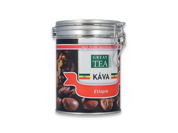 Mletá káva arabica Etiopie