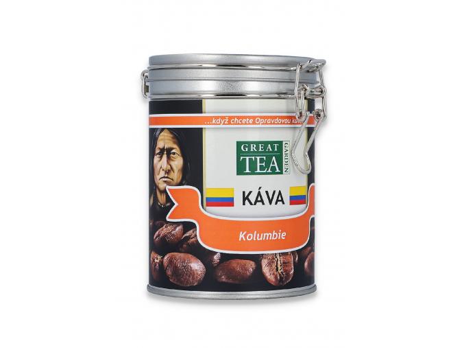 Mletá káva arabica Kolumbie