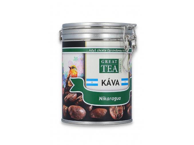 Mletá káva arabica Nikaragua