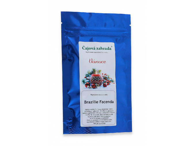 Mletá káva arabica Brazilie Facenda vánoční dárek