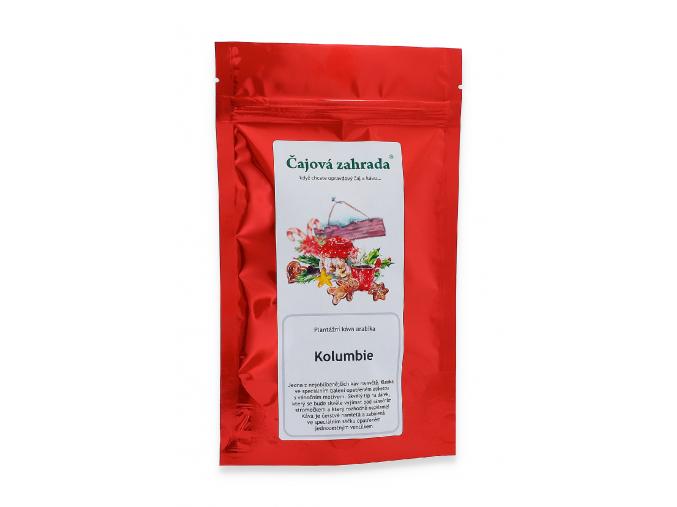 Mletá káva arabica Kolumbie vánoční dárek