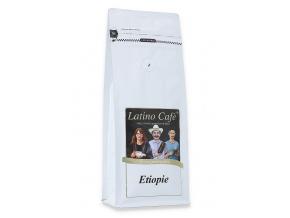 Čerstvě pražená káva arabica Etiopie