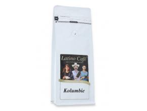 Čerstvě pražená káva arabice Kolumbie
