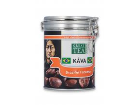 Mletá káva arabica Brazilie Facenda