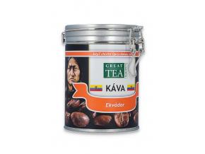 Mletá káva arabica Ekvador