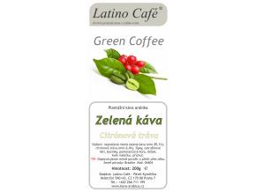 Zelená káva s citrónovou trávou
