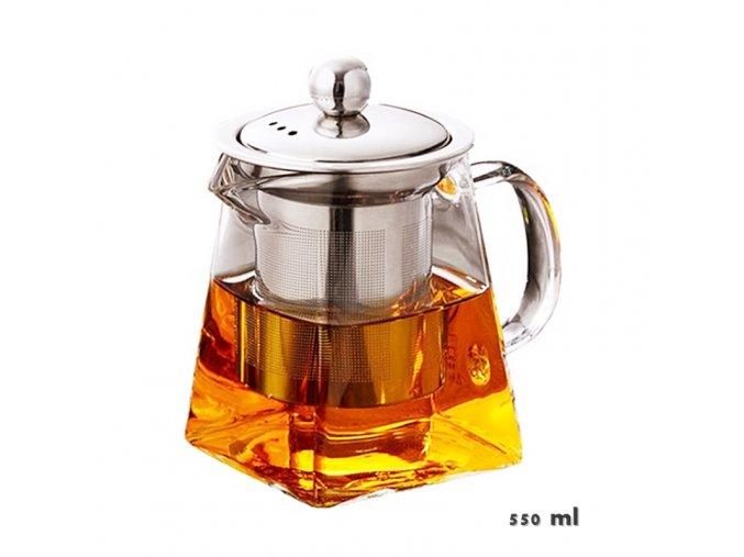 Borosilikátová konvice 550 ml Fotor