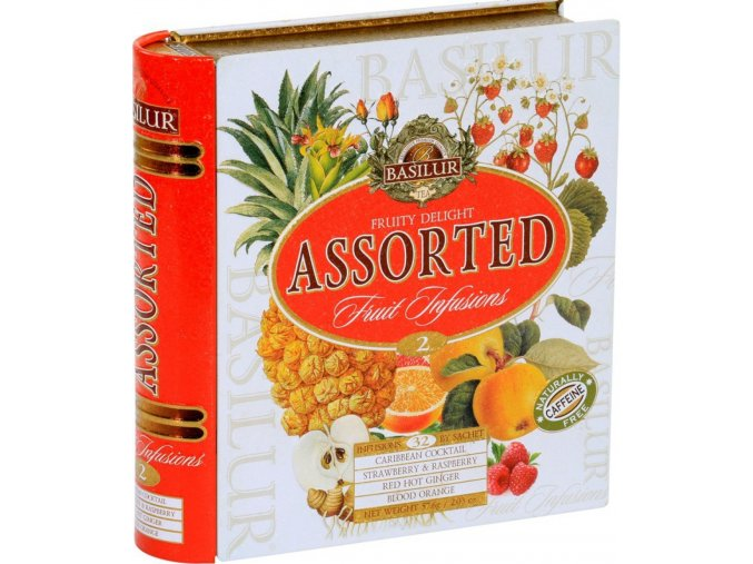 4435 71395 teabook fruity delight 32 tea bag herbal original