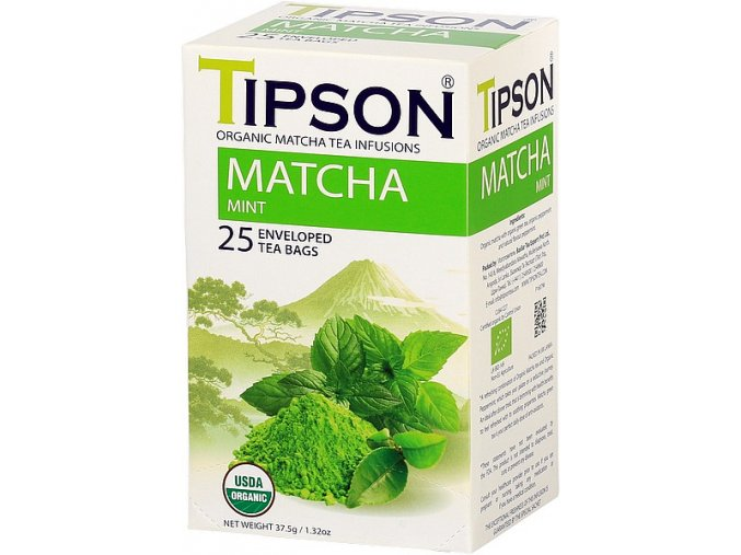 Tipson Matcha tea mint