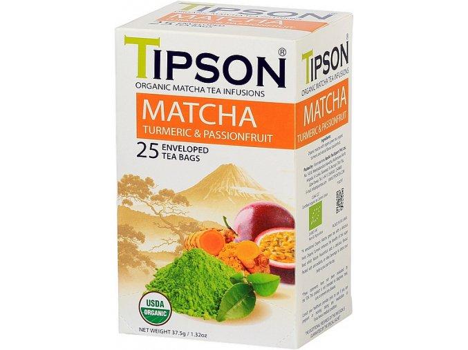 Tipson Matcha tea Turmeric
