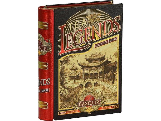 Tea book celestial empire zelený