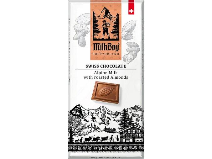 Milkboy almond chocolate