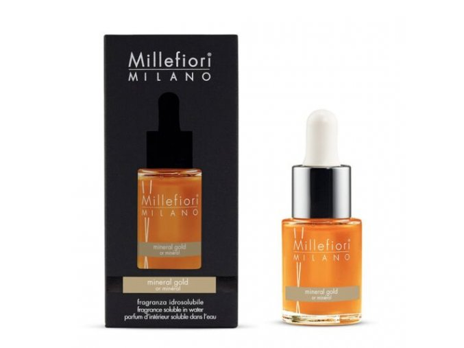 MILLEFIORI Natural Aroma olej 15ml Mineral Gold